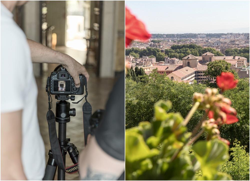 Rooma, kesä, kaupunki, valokuvaus, Visualaddict, Rome, photography, Frida Steiner, valokuvaaja, Rome, streetphotography, Villa Lante, behind the scenes, making of photography, photoshoot, kukat, landscape, scenery