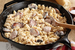 Family Dollar Ideas & Inspiration : Date Night Sausage Alfredo