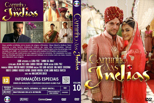 Capa DVD Caminho Das Índias Volume 10 [Exclusiva]