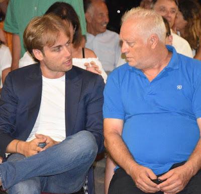 Silvano D'Orsi con Mattia Stante