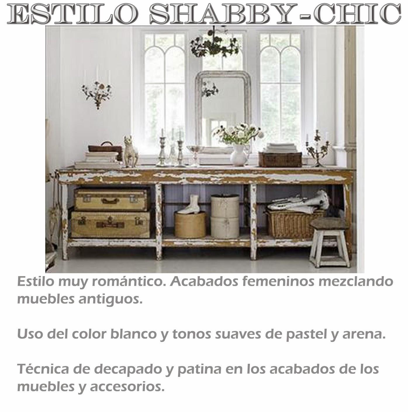 Estilo Shabby-chic