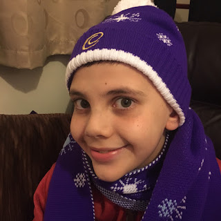 Cadbury Hat and Scarf