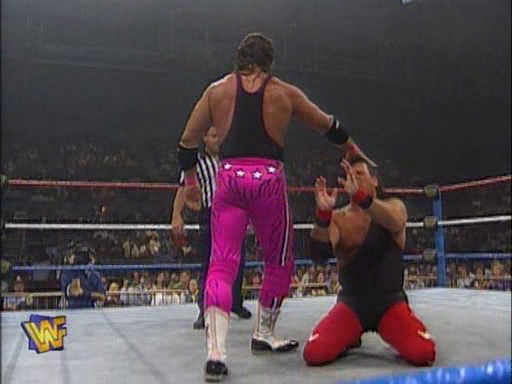 WWF / WWE - In Your House 1 - Bret Hart lost to long-time rival Jerry Lawler after interference from Hakushi