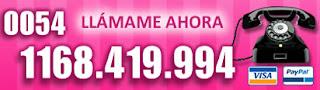 Tarot Visa Argentina: 0054 1168 419 994