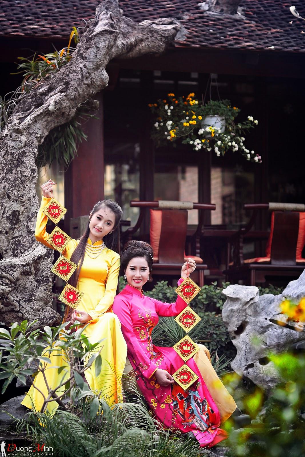 Ảnh đẹp girl xinh Áo dài truyền thống Việt Nam - Ảnh 22