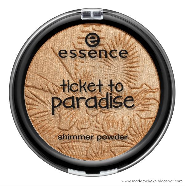 essence ticket to paradise – shimmer powder