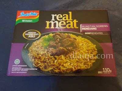 Indomie Real Meat - Rendang