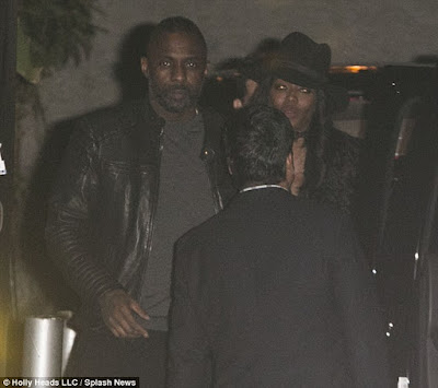 Idris Elba seen leaving New York nightclub with Naomi Campbell