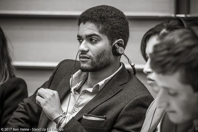 Nicolas Hamon - Students for Europe - Stand Up For Europe - Parlement européen - Portrait by Ben Heine