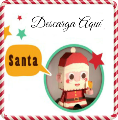 The great world of papercraft especial merry christmas - Un santa claus especial ...