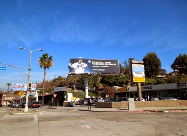 Dodgers Network extension billboard