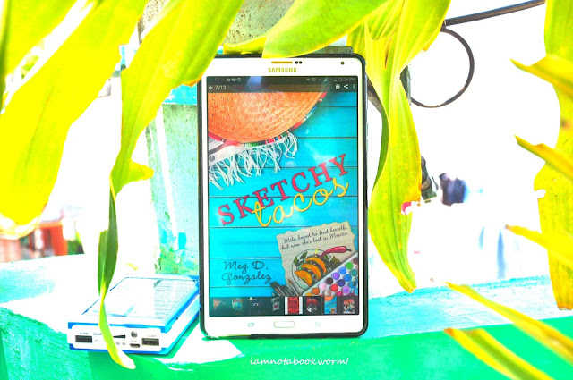 Sketchy Tacos by Meg D. Gonzalez | A Book Review by iamnotabookworm!