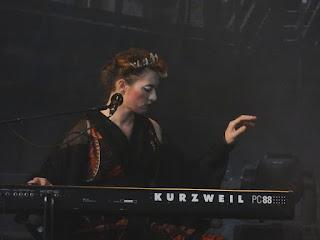 17.06.2017 Duisburg - Landschaftspark Nord: Amanda Palmer & Edward Ka-Spel