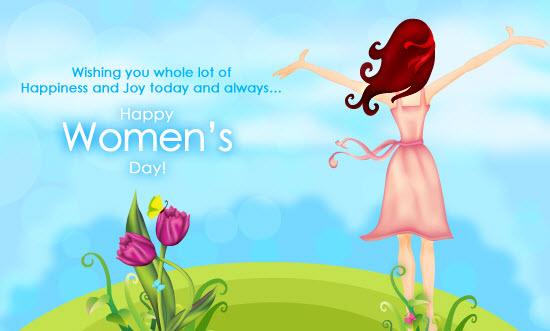 Happy Women's Day 2018 Greetings