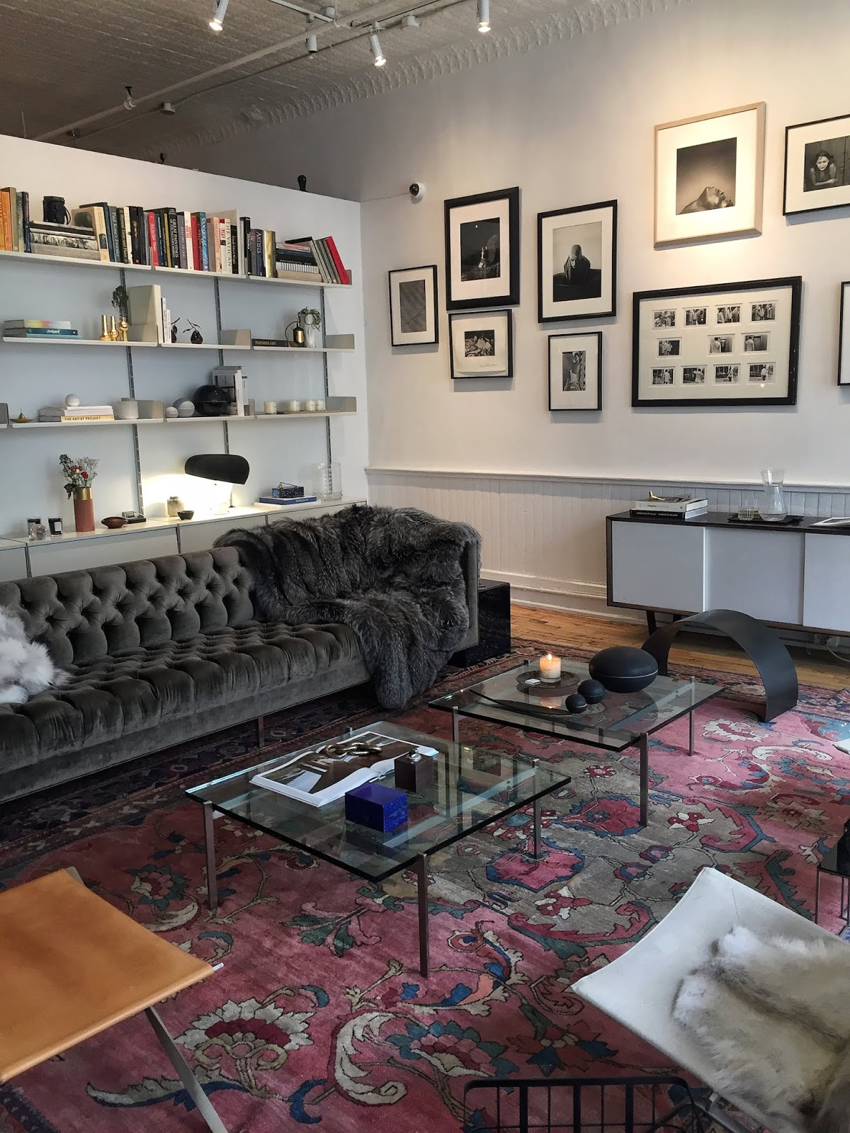 New York City travel diary The Loft soho shopping