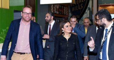 وزير الاستثمار في زيارة لمول مصر قبل افتتاحه بايام قليلة