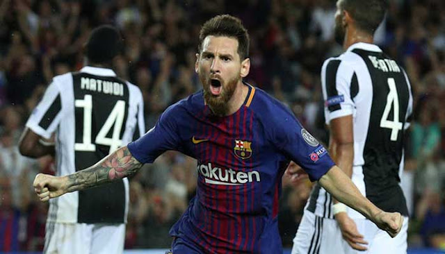 Liga Champion : Barcelona 3 - 0 Juventus, Messi Bobol Gawang Buffon 2 Gol