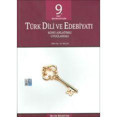 Altın Anahtar 9. Sınıf Türk Dili ve Edebiyatı Konu Anlatımlı Uygulamalı (2017)
