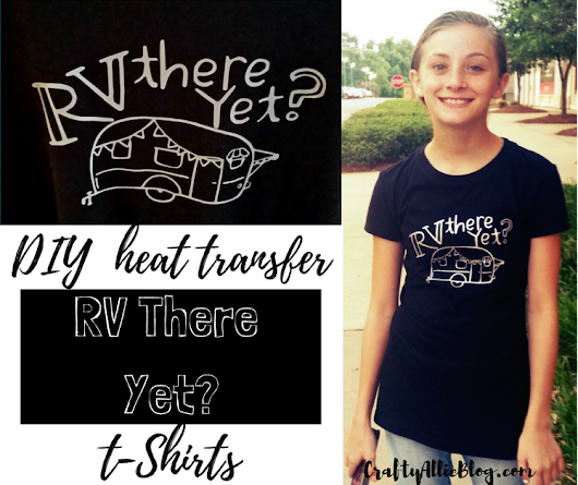 DIY Heat Transfer T-Shirts + FREE Download