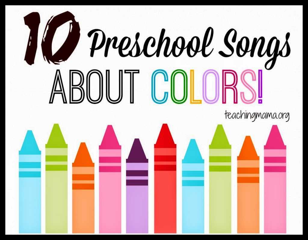 Rainbow and Color Music for Preschool