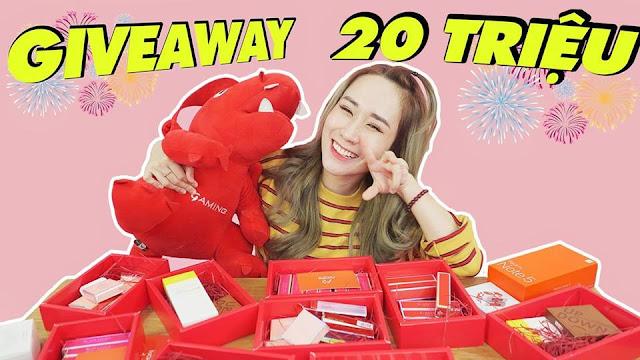 Giftaway mừng 100,000 sub của Hương Witch