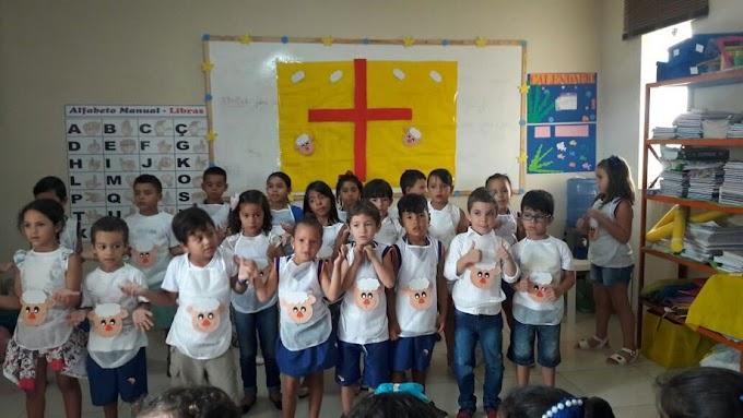 Centro Educacional Ludos desenvolve projeto sobre a Páscoa
