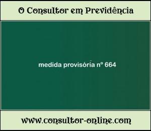 A Renda Mensal do Auxílio-Doença com regra da MP 664/2014