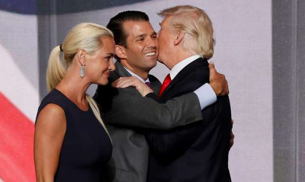 Trump Jr.'s wife hospitalized after suspicious powder scare: police