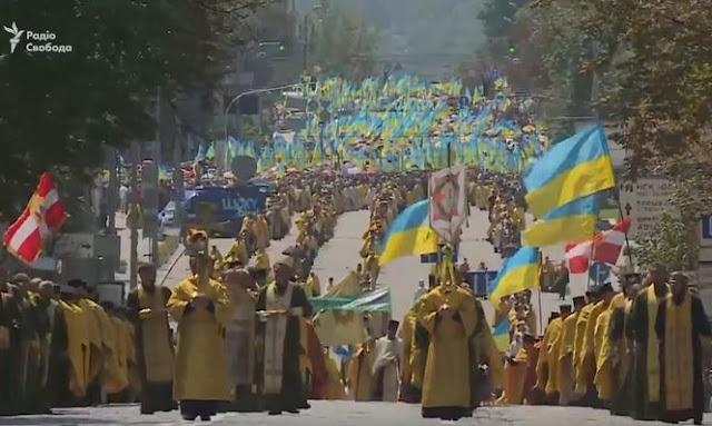 Хресна хода УПЦ КП в Києві: в заході бере участь Порошенко