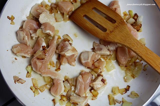 smażone kawałki kurczaka
