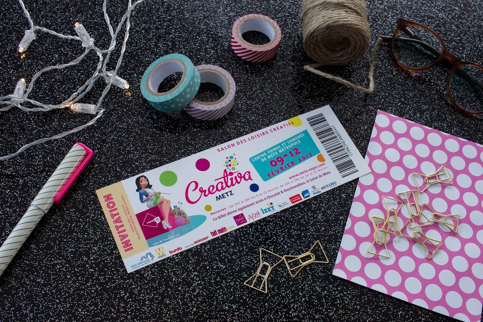 Concours a gagner 10 invitations pour le salon creativa metz bavardons - Concours loisirs creatifs ...