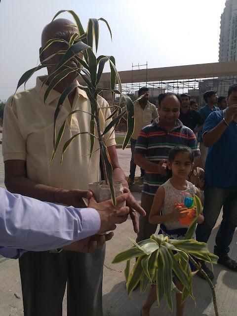 RG Residency organizes 'Go Green' Tree Plantation Drive