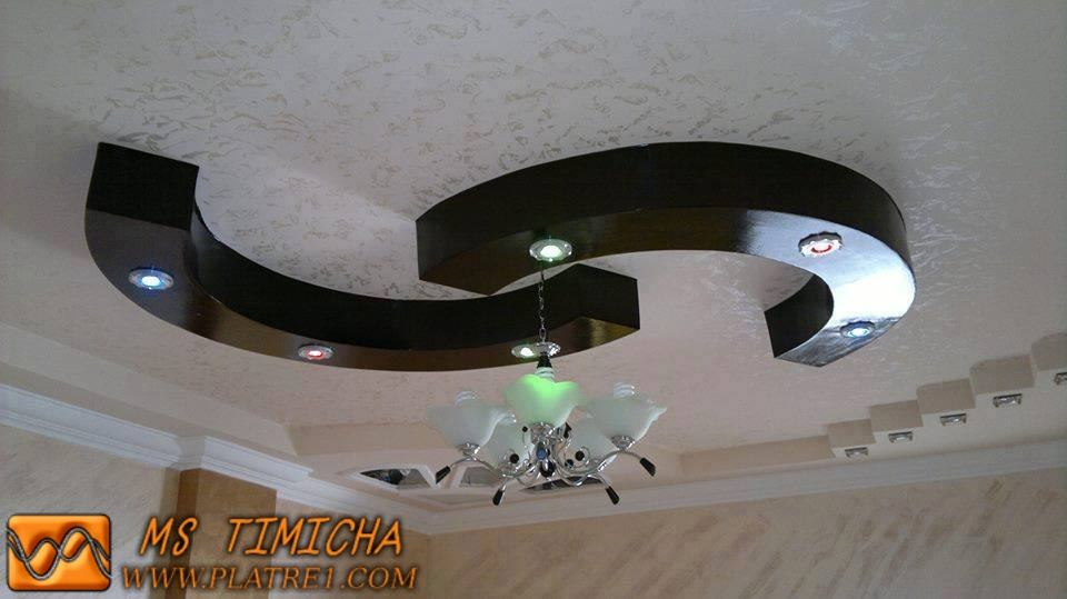 Faux plafond en pl tre d coration 2015 ms timicha for Decoration platre marocain 2012