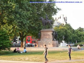 Monumento en Hyde Park.