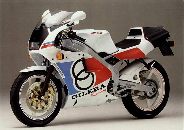 Gilera SP 01 125cc Two Stroke Motorbike