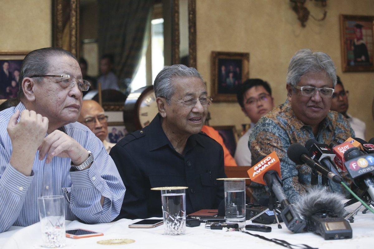 Sidang Media Ditamatkan Apabila Uncle Lim Kit Siang Mengamuk
