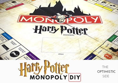 Monopoly Harry Potter DIY