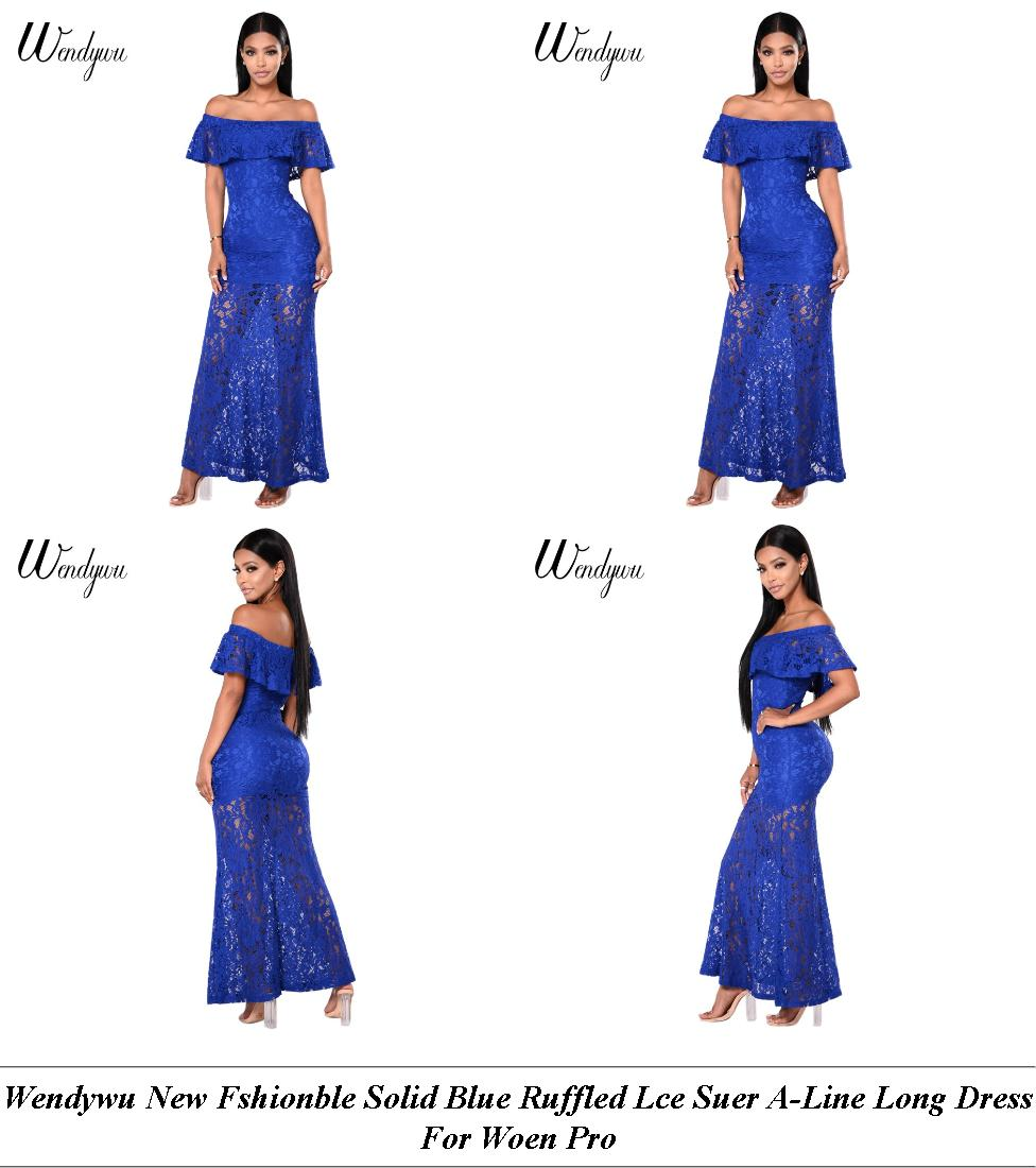 Evening Dresses - Summer Sale - Polka Dot Dress - Cheap Online Shopping Sites For Clothes