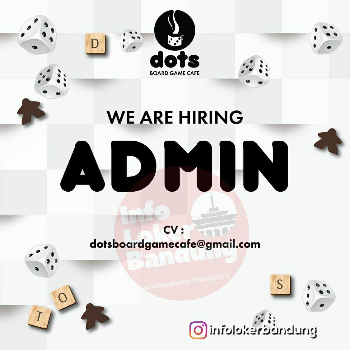 Lowongan Kerja Dots Board Game Cafe Bandung Januari 2019