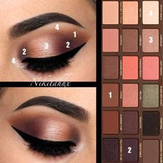 Luxury Makeup - (5 Steps To Create This Shimmer And  Glow Liquid Eyeshadow)
