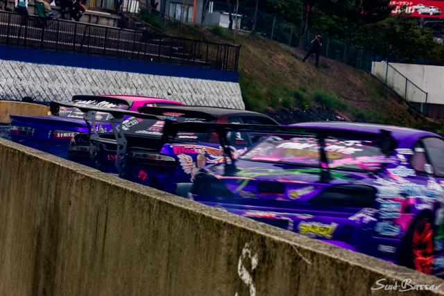 team紫 ドリフト 名阪