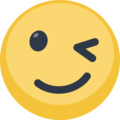 Winking Facebook Smiley