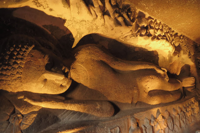 Sleeping Buddha, Ajanta Caves