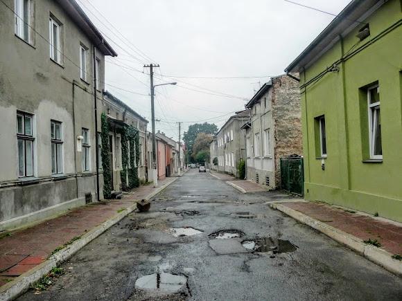 Сокаль. Улица Святого Владимира