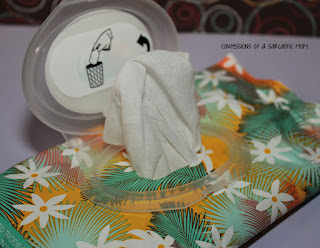 Pacifica Underarm Deodorant Wipes