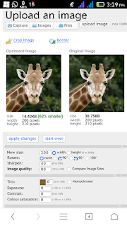 Reduce The Size Of Your Picture to 30kb or less
