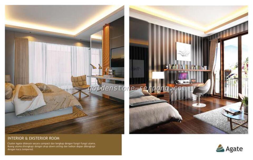 Rumah Agate Golden Stone Serpong Design