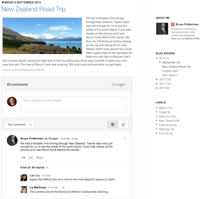 Automatically share your blog posts to Google Plus