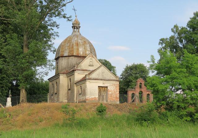 Cerkiew w Wyzłowie z bliska