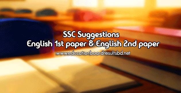 SSC Suggestion 2016 - English 1st paper & English 2nd paper